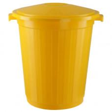 Бак для медицинских отходов КМ-проект класс Б 50 л желтый