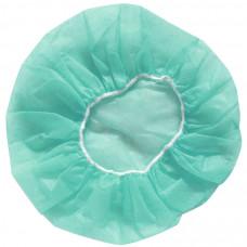 Шапочка Берет блином зеленый 100 шт