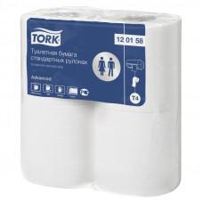 Туалетная бумага Tork Advanced 120158 2 слоя 9,5х23 см 184 листа 96 шт