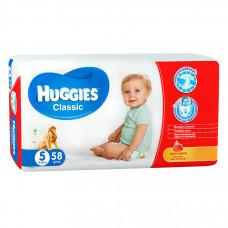 Подгузники Huggies Classic SoftDry 11-25 кг 58 шт