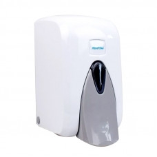 Диспенсер для жидкого мыла KonTiss ТДК-5-М 0,5 л ударопрочный пластик белый