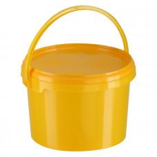 Контейнер для органических отходов КМ-Проект класс Б 3 л желтый с ручкой