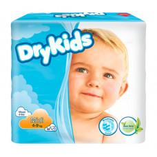 Подгузники DryKids midi 4-9 кг 30 шт