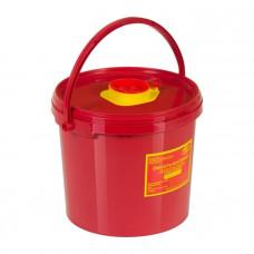 Контейнер для утилизации острого инструмента МедКом класс В 2,5 л красный