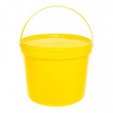 Бак для медицинских отходов Инновация класс Б 10 л желтый