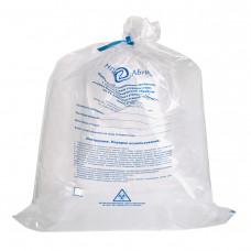 Пакеты для автоклавирования отходов с индикатором Абрис 750х500 мм 40 л белые 100 шт