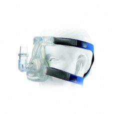 Маска многоразовая для CPAP MN 129-01 с фиксатором назальная S