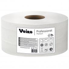 Туалетная бумага Veiro Professional Premium 3 слоя 160 листов 20 м белая 48 шт