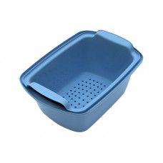 Емкость-контейнер 1 л КДС-1 голубая 280х155х105 мм