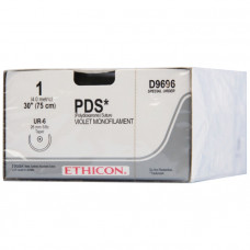 Нить ПДС М1.5 (4/0) обратно-режущая игла PS-2 прайм 45 см 24 шт W9874T