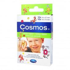 Пластырь Cosmos kids с рисунком два размера 20 шт