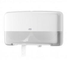 Диспенсер для туалетной бумаги в мини-рулонах Tork Elevation 555500 двойной белый