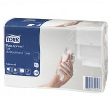 Полотенца Tork Xpress 471135 Multifold сложение 2 слоя белые 21х23,4 см 190 листов 20 шт
