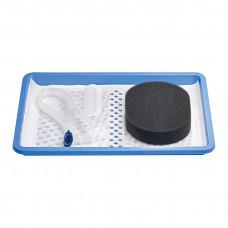 Набор для вакуумной терапии VivanoMed Foam Kit 4097271 стерильный М 18x12,5x3,2 см 10 шт