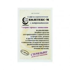 Салфетки Колетекс с метронидазолом 6х10 см