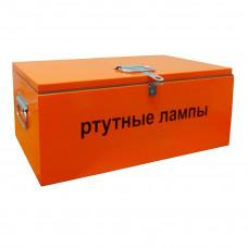 Контейнер для сбора и хранения люминесцентных ламп КРЛ-0 7х30х25 см