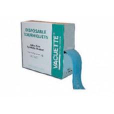 Жгут венозный Vacuette одноразовый нестерильный безлатексный 45х2,5 см голубой 840053 25 шт