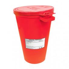 Контейнер для утилизации игл Респект класс В 0,5 л красный