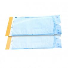 Пакет для паровой и газовой стерилизации самозаклеивающийся Клинипак 140х280 мм 200 шт