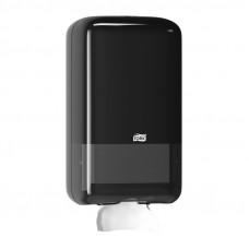 Диспенсер для листовой туалетной бумаги Tork 556008 черный