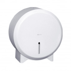 Диспенсер туалетной бумаги Merida Stella white mini BSB201 эмалированная сталь