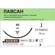 Лавсан крученый 4512К1-2(5) 75-ЛК зеленый №25