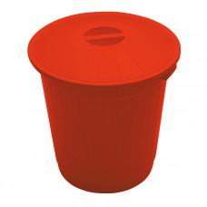 Бак для медицинских отходов КМ-Проект класс В 50 л красный