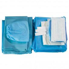 Комплект белья и одежды хирургической одноразовый стерильный
