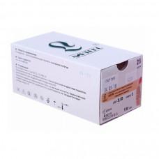 Шелк плетеный черный (3/0) HRТ-20 75 см 25 шт