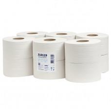Туалетная бумага 1-слой, 150метров, макулатура, высота рулона 9,5 см, диаметр 16 см, диаметр втулки 6см (12 рул/уп)