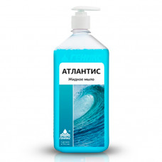 Атлантис жидкое мыло антибактериальное - дозатор 1 л