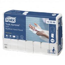 Полотенца Tork Xpress 100288 Multifold сложение 2 слоя 21х34 см 100 листов 21 шт