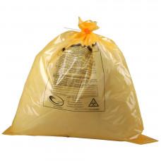 Мешки для медицинских отходов Медпак класс Б 600х1000 мм 18 микрон