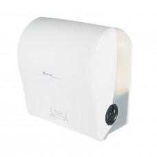 Автоматический диспенсер бумажных полотенец в рулонах Merida solid cut MAXI белый