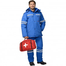 Костюм врача Скорой помощи - куртка и полукомбинезон мужской зимний