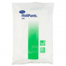 Штанишки MoliPants Soft удлиненные эластичные  для фиксации прокладок XL 5 шт 9477982