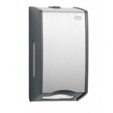Диспенсер для листовой туалетной бумаги Tork 456000 металл