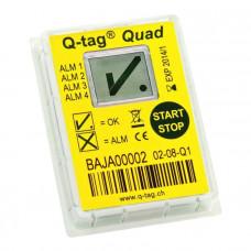 Кью-Тег Квад Q-tag Quad термоиндиндикатор одноразовый