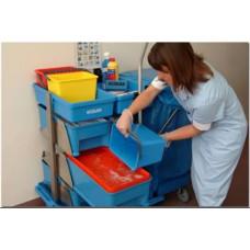 Тележка медицинская транспортировочная Mobilette Healthguard Big PBT3H