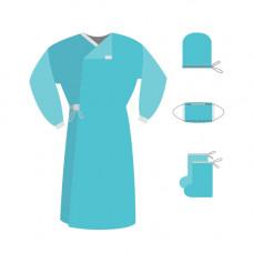 Комплект одежды хирургической КХ-1 стерильный 24 шт