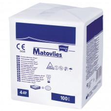 Салфетки Matopat Matovlies стерильные 4 слоя 30 г/м 5х5 см 2 шт