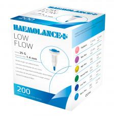 Ланцет автоматический Haemolance Plus Lowl Flow синий 200 шт