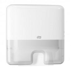Мини-диспенсер для листовых полотенец Tork Xpress Multifold 552100 белый