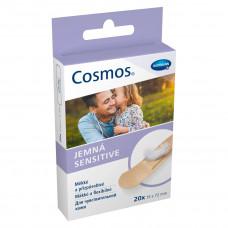 Пластырь Cosmos sensitive для чувствительной кожи 1,9х7,2 см 20 шт