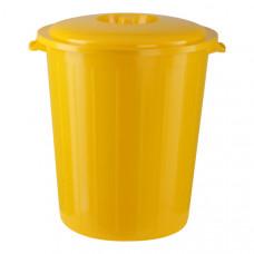 Бак для медицинских отходов КМ-проект класс Б 65 л желтый