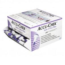 Акку-Чек Сэйф Т-Про Плюс Устройство стерильное одноразовое для получения капиллярной капли крови №200