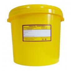 Бак для медицинских отходов Респект класс Б 10 л желтый