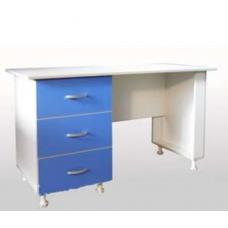 Стол для оснащения кабинета врача СМ1-02.02 на опорах