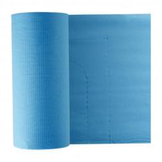 Фартук бумажный  для пациентов Euronda Monoart 61х53 см голубой 80 шт рулон