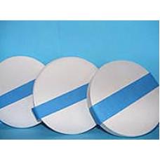 Фильтр обеззоленный 18 см синий медленной фильтрации 100 шт